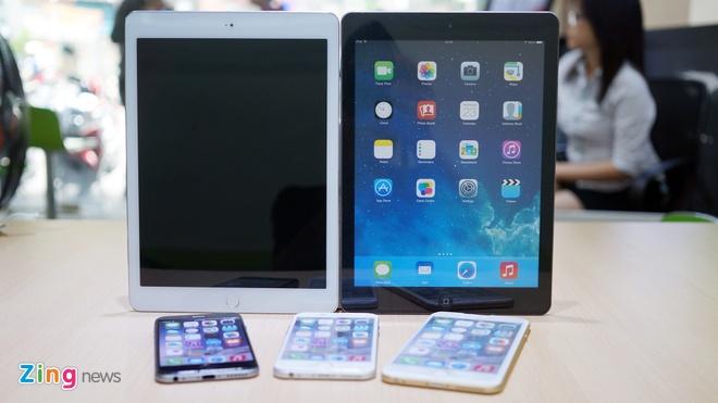 Mo hinh iPad Air 2 xuat hien tai VN truoc ngay ra mat hinh anh 10