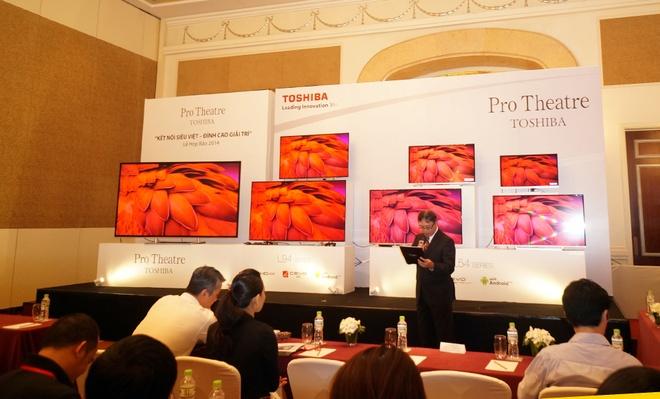 Toshiba ra mat loat TV Ultra HD 4K tai Viet Nam hinh anh