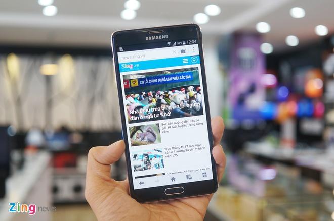 Galaxy Note 4 vuot mat iPhone 6 tren BXH smartphone thang 10 hinh anh 1