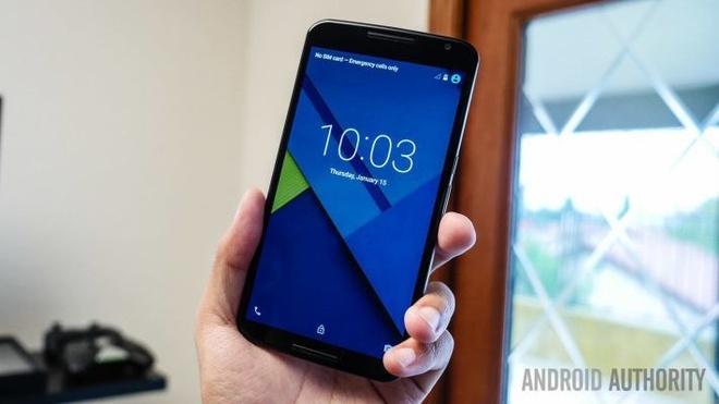 Mo hop Nexus 6 khung vien kim loai va chay Android Lollipop hinh anh