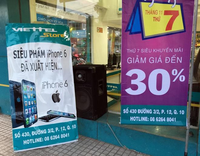 iPhone 6 co mat tai cua hang cua nha mang, san sang ban ra hinh anh 2