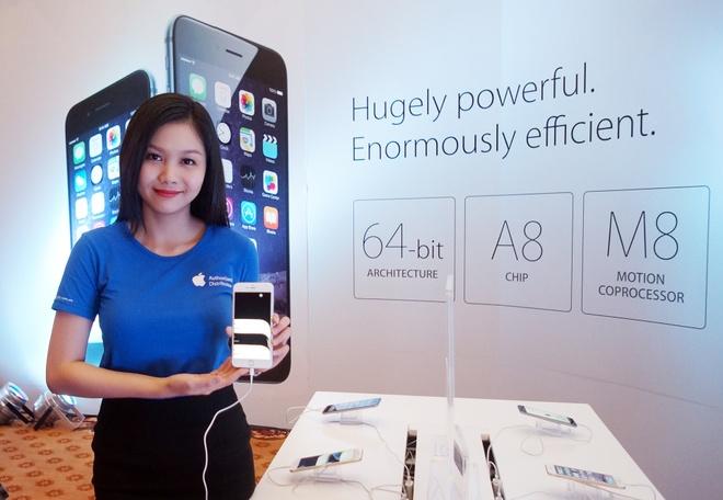 iPhone 6 duoc ra mat chinh thuc tai thi truong Viet Nam hinh anh
