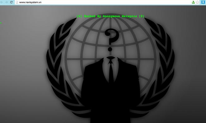 Hacker Malaysia tu nhan tan cong hon 50 website Viet Nam hinh anh