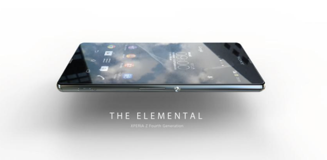 Lo anh thuc te tuyet dep duoc cho la Sony Xperia Z4 hinh anh