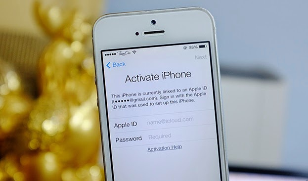Trom iPhone de dang lay Gmail, iCloud qua SIM nha mang VN hinh anh