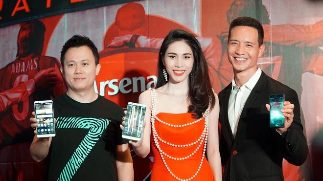 Huawei ra mat phien ban P7 Arsenal tai Viet Nam hinh anh