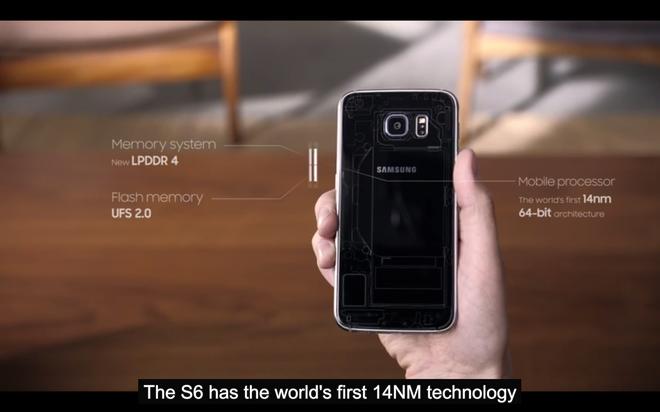 Phan cung moi: vi xu ly khung, pin sac nhanh va thanh toan qua Samsung Pay hinh anh