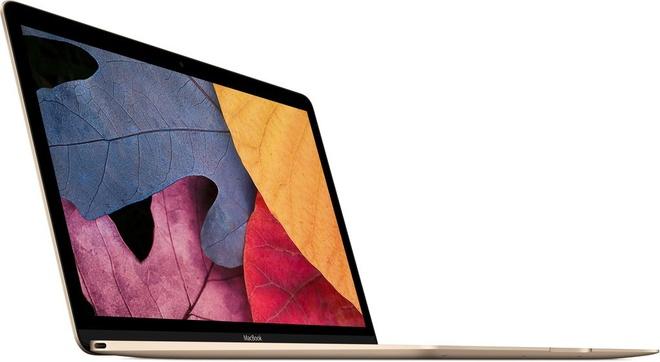 Anh MacBook Retina 12 inch phien ban Gold vua ra mat hinh anh