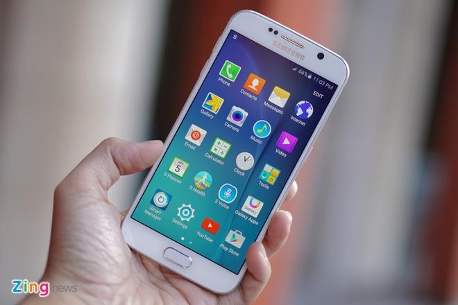 Mo hop Galaxy S6 sap ban tai Viet Nam, gia tu 16,6 trieu hinh anh 10
