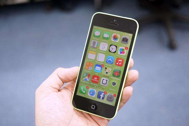 Smartphone gia re khon don vi iPhone 5C 3,5 trieu dong hinh anh