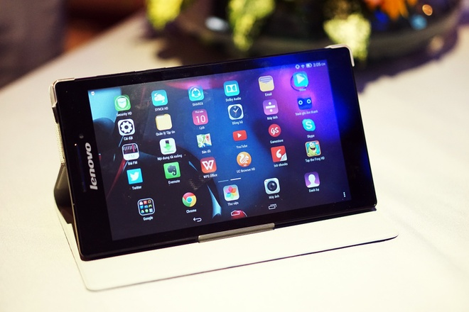Tablet Lenovo chip 4 nhan, am thanh Dolby gia 1,9 trieu o VN hinh anh