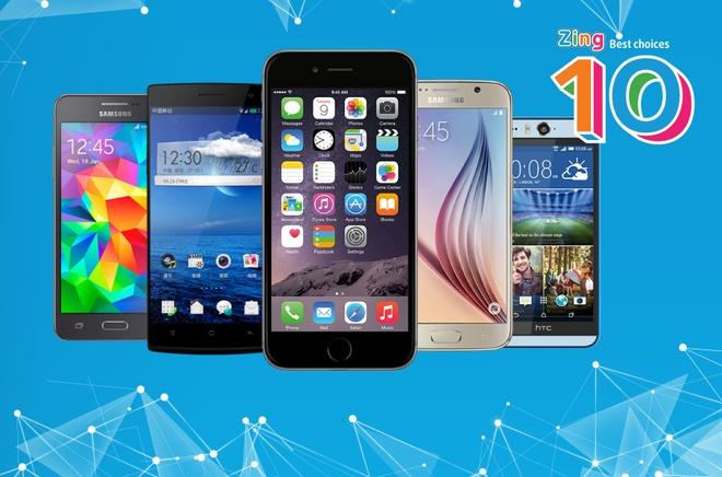 10 smartphone tot nhat thang 4 hinh anh