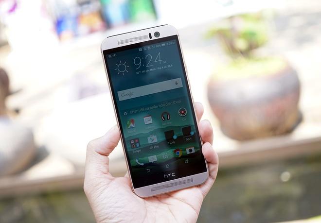 HTC One M9 vua len ke da giam gia hang trieu dong hinh anh