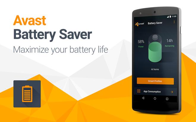Ung dung Avast giup tang thoi luong pin Android len 7 tieng hinh anh