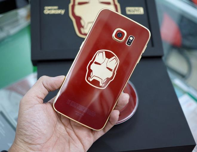Galaxy S6 Edge ban Iron Man ve Viet Nam gia 58 trieu dong hinh anh