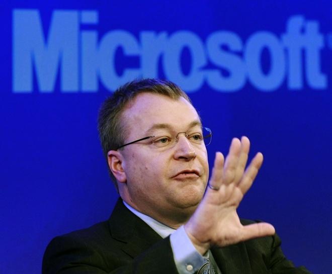 Cuu CEO Nokia Stephen Elop chuan bi roi khoi Microsoft hinh anh