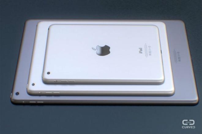 Man hinh iPad Pro 12,9 inch se do Samsung va Sharp san xuat? hinh anh