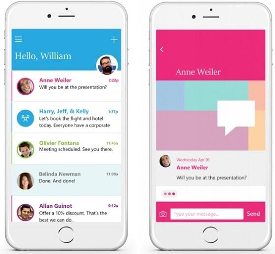 Microsoft ra mat ung dung Send cho iOS, doc email tuc thi hinh anh