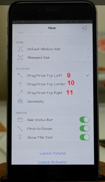 Trang bi cho iPhone chay iOS 8 cua so da nhiem iOS 9 hinh anh 4