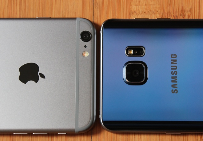 Galaxy Note 5 so camera voi iPhone 6 Plus hinh anh
