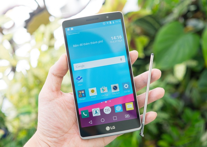 Danh gia nhanh LG G4 Stylus: Man hinh lon, but cam ung muot hinh anh