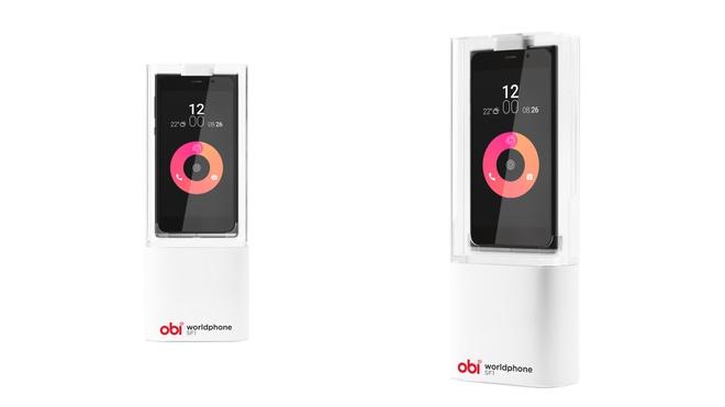 Cong ty cua cuu CEO Apple ra mat smartphone gia re hinh anh 3 Hộp đựng điện thoại Obi có thiết kế lạ.