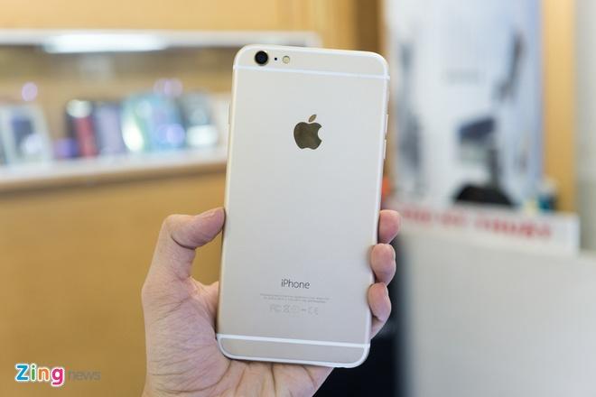iPhone 6 Plus nhai co cam bien van tay, gia 3,9 trieu o VN hinh anh 4