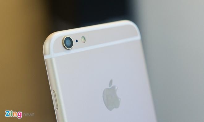 iPhone 6 Plus nhai co cam bien van tay, gia 3,9 trieu o VN hinh anh 5