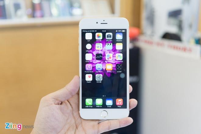 iPhone 6 Plus nhai co cam bien van tay, gia 3,9 trieu o VN hinh anh 3