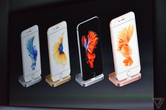 iPhone 6S, 6S Plus trinh lang: Camera 12 MP, them mau hong hinh anh