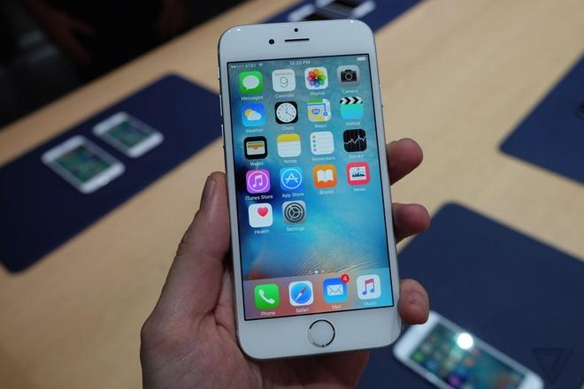 Anh thuc te iPhone 6S va 6S Plus vua ra mat hinh anh 2