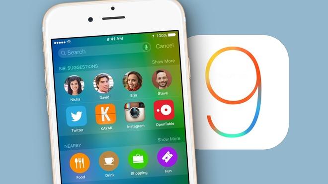 Chuan bi gi cho iPhone, iPad de don iOS 9? hinh anh