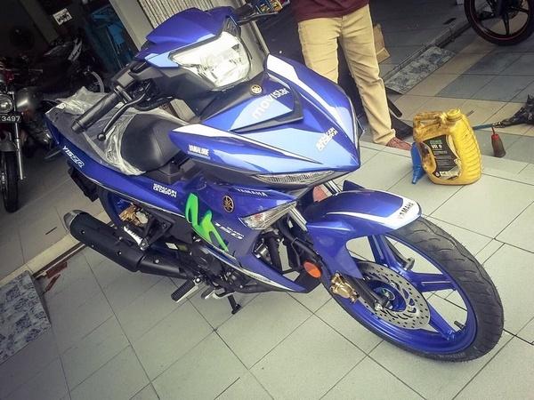 Yamaha Exciter 150 ra mat phien ban Movistar hinh anh