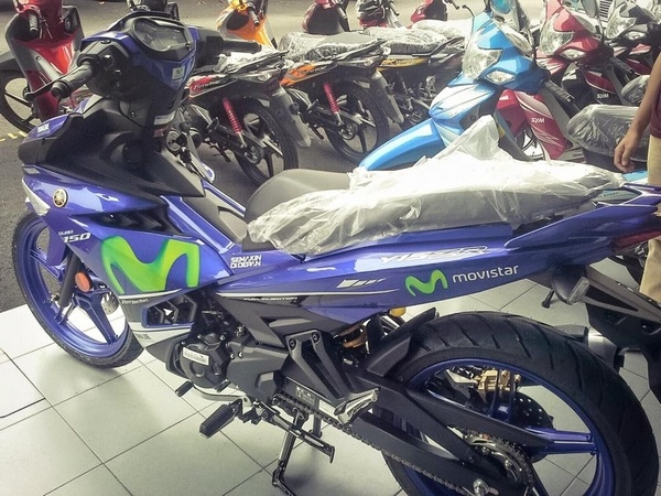 Yamaha Exciter 150 ra mat phien ban Movistar hinh anh 5