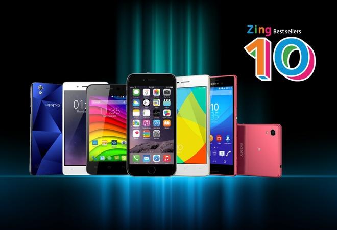 10 smartphone ban chay nhat thang 8 tai Viet Nam hinh anh