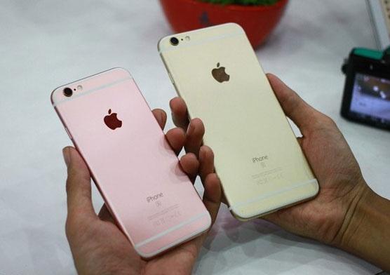 iPhone 6S Plus vang hong chay hang trong ngay dau tien hinh anh