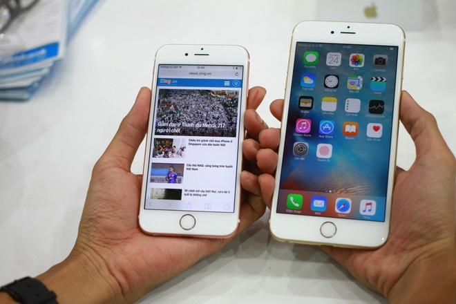 iPhone 6S xach tay tu Singapore giam gia chong mat hinh anh