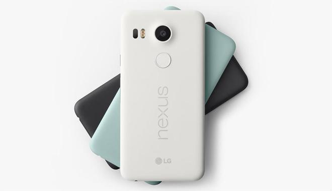 Nexus 5X man hinh 5,2 inch, LG san xuat hinh anh