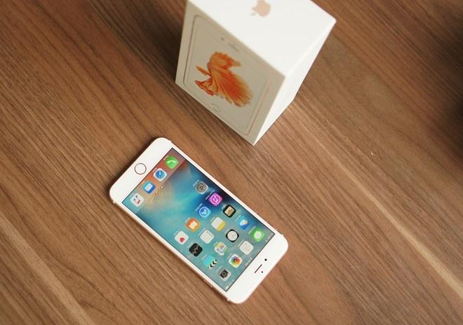 iPhone 6S chinh hang co mat tai Viet Nam giua thang 11 hinh anh