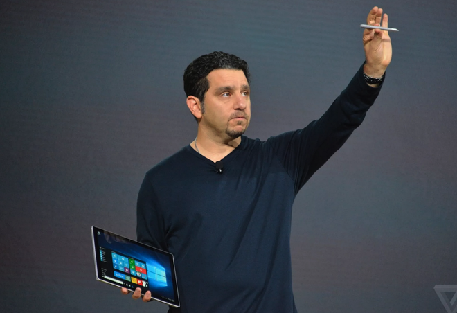Surface Pro 4 sieu mong ra mat, manh hon Macbook Air hinh anh