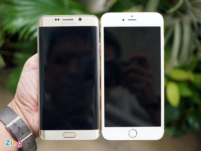 iPhone 6S Plus do dang Samsung Galaxy S6 Edge Plus hinh anh 6
