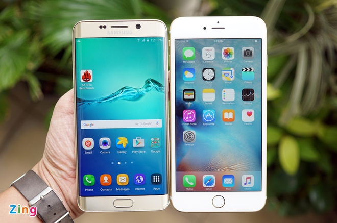 iPhone 6S Plus do dang Samsung Galaxy S6 Edge Plus hinh anh 7