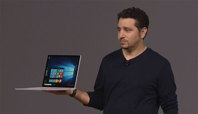 Surface Book - laptop dau tien cua Microsoft trinh lang hinh anh