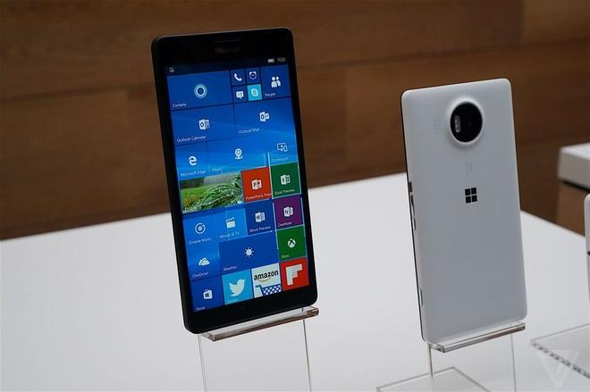 Anh Lumia 950 va 950 XL cau hinh manh, lam mat tu chat long hinh anh