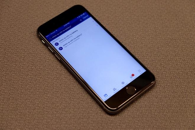 Facebook ra ung dung moi tranh hao pin tren iPhone hinh anh
