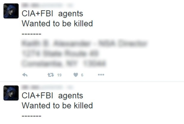 Tra dua Anonymos, IS he lo danh sach nhan vien FBI va CIA hinh anh 2
