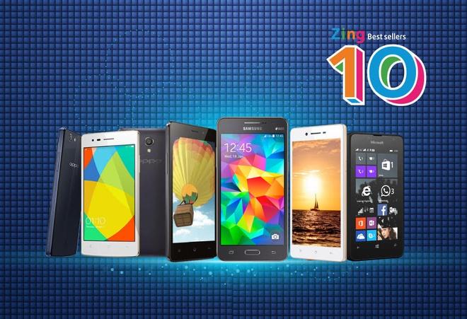 10 smartphone ban chay nhat thang 10 tai Viet Nam hinh anh