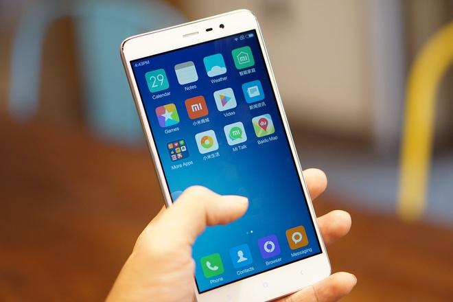 Mo hop Xiaomi Note 3 vo kim loai, quet van tay gia 4 trieu hinh anh
