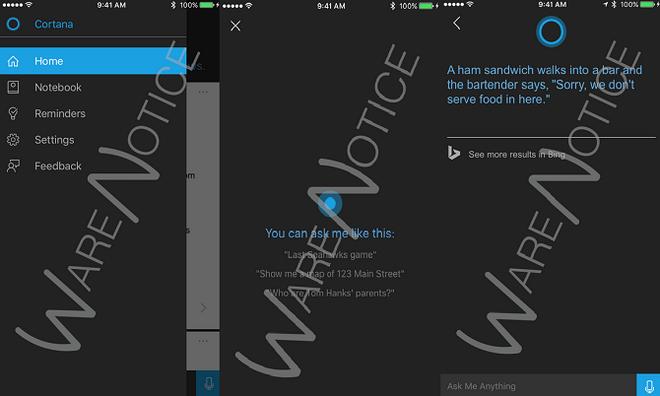 Nguoi dung iOS bat dau duoc thu nghiem Cortana hinh anh 2