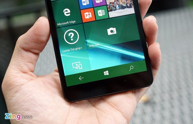 Can canh Microsoft Lumia 950 vua co mat tai Sai Gon hinh anh 8